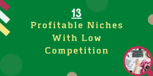 Profitable Niches With Low Competition